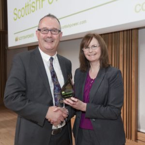 Coreal is awarded as the best Scottish Power Supplier in 2017