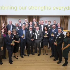 Coreal is awarded as the best Scottish Power Supplier in 2017.